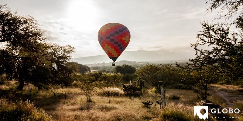 ¿Puedo volar en globo?