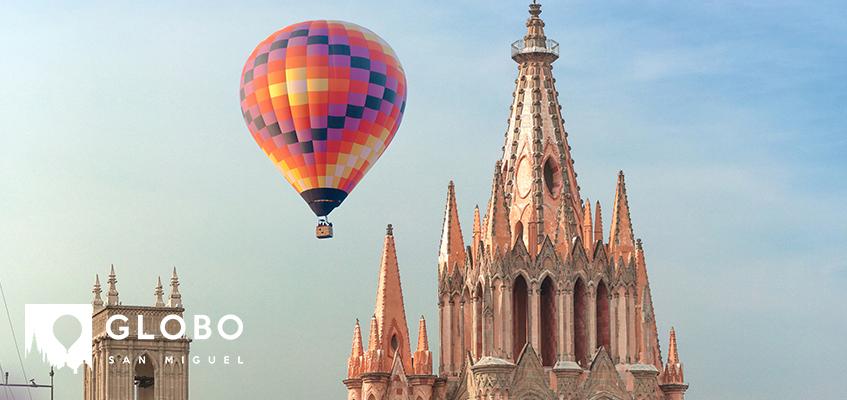 Vuela sobre San Miguel de Allende
