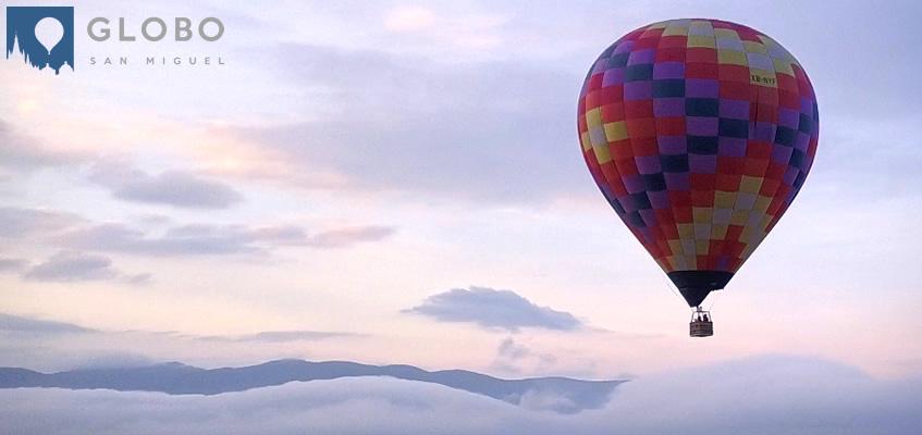 ¿En qué consiste el vuelo en globo?