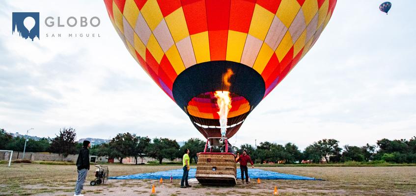 ¿Qué llevar para mi vuelo en globo?